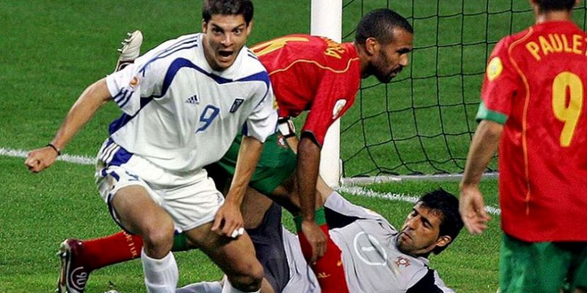 Greece, who began the tournament as 80-1 outsiders, pulled off arguably the biggest shock at a major football tournament as Angelos Charisteas' goal earned a 1-0 victory over Portugal in the final of UEFA EURO 2004.