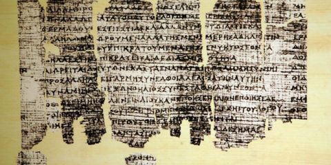 The oldest book of Europe:The Greek Derveni Papyrus