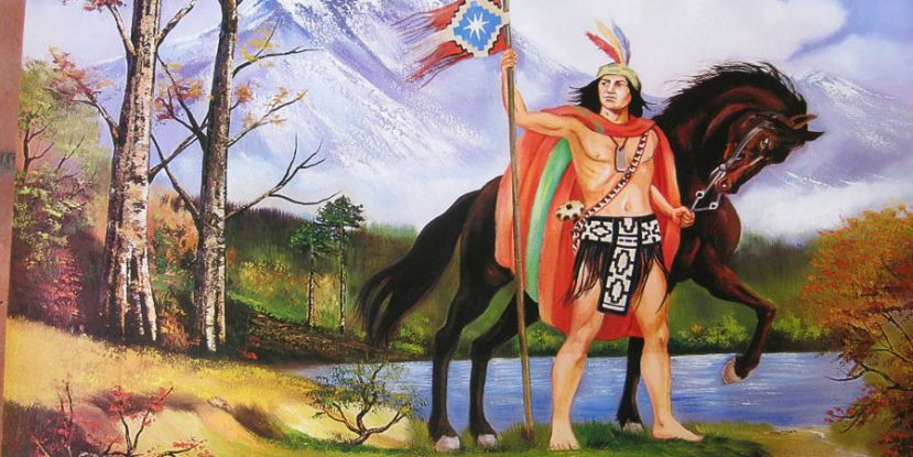 Lautaro an Araucanian chief leader