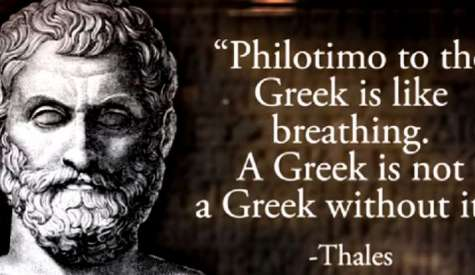 Filotimo: The untraslatable unique Greek virtue